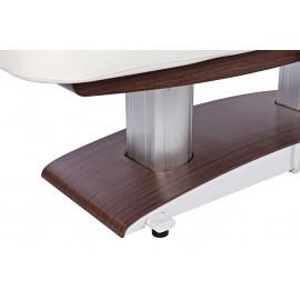 Table massage TM59 pied couleur foncée