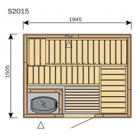 Plan sauna S2015