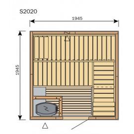 Plan sauna S2020