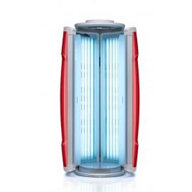 Solarium HApro Proline vertical ouvert