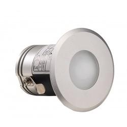 Spot LED rond chromo sauna