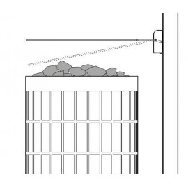 Principe sécurité poêle sauna