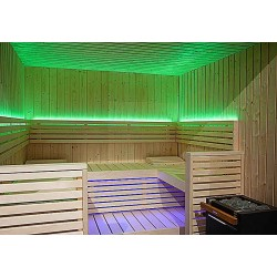 Lumière couleur LED sauna