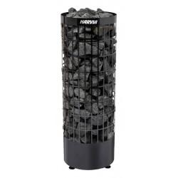 Poêle sauna Cilindro black sans commande