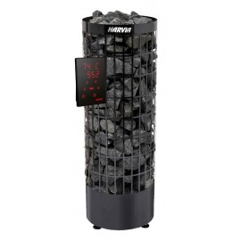 Poêle sauna Cilindro XE black