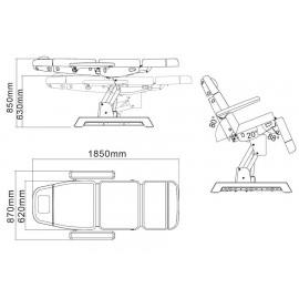 Technique fauteuil soins FS20