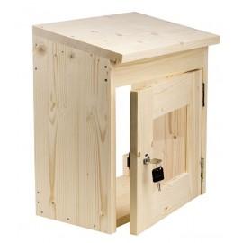 Boitier verrou sauna