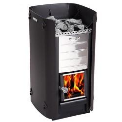 Bouclier thermique poêle sauna