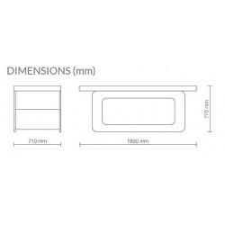 Table de massage TVM30 dimensions