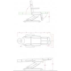 Fauteuil de podologie FP35