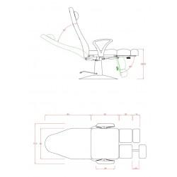 Fauteuil podologie FP31A