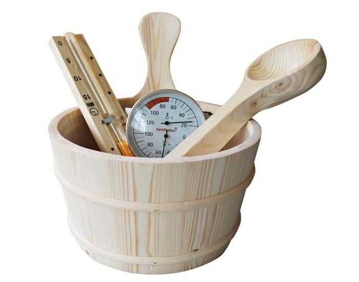 Lot accessoires sauna traditionnel