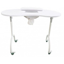 Table de manucure pliable