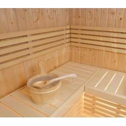 Sauna S1515R, tout l'esprit de la tradition Finlandaise