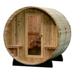 Sauna tonneau ST2
