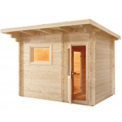 Sauna extéreur monopan