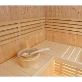 Sauna S2520R/L porte verre