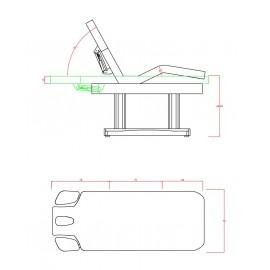 Table massage électrique TM49