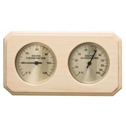 Indicateur température et hygrométrie sauna