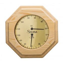 Thermomètre et hygromètre TH90 sauna