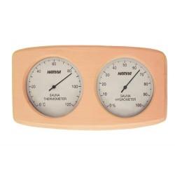Thermomètre hygromètre sauna