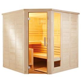 Sauna massif d'angle K2020R