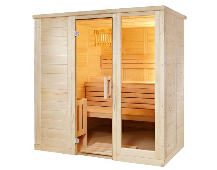 Sauna massif K2015 2 places
