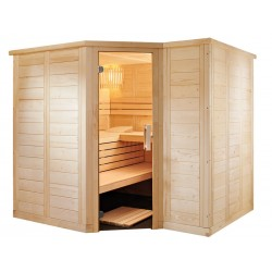 Sauna en bois massif P2020