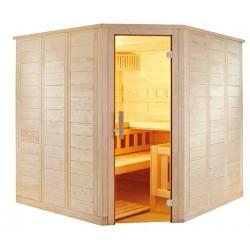 Sauna massif d'angle W2020R