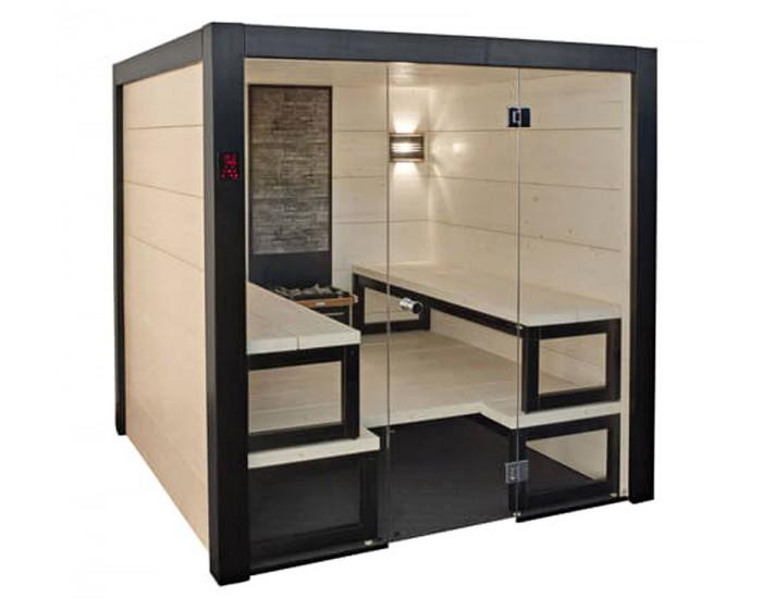 Sauna Harvia Solid intérieur