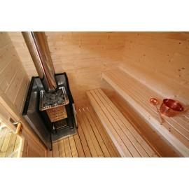 Vue intérieure sauna Kuikka