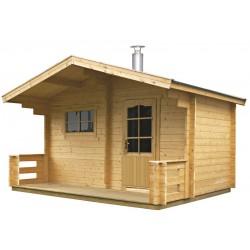 Sauna traditionnel extérieur Keitele