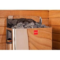 Poêle pour sauna Wall avec commandes intégrées