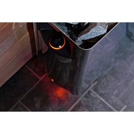 Détail poele Wall pour sauna