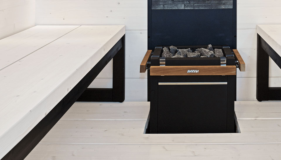 Interieur sauna Solide