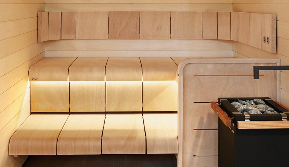 Equipement interieur sauna