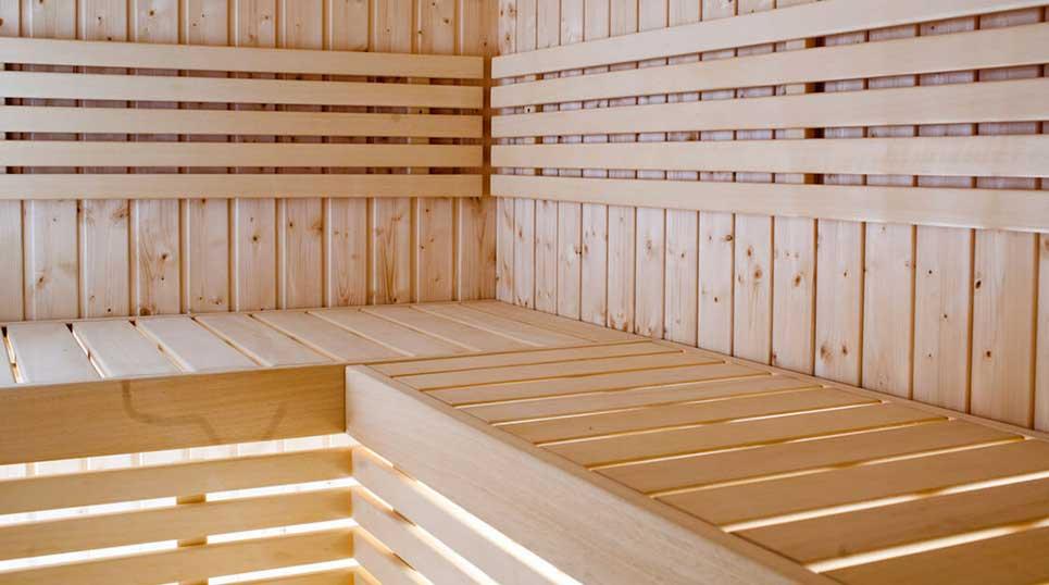 Interieur sauna formula