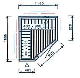 Plan-sauna-IR-SI1215RL