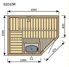 Acheter sauna finlandais harvia sauna bois sante - Plan sauna finlandais ...