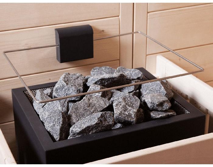 Sécurité poêle sauna